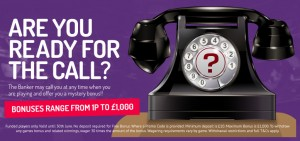 Banker Call Promotion