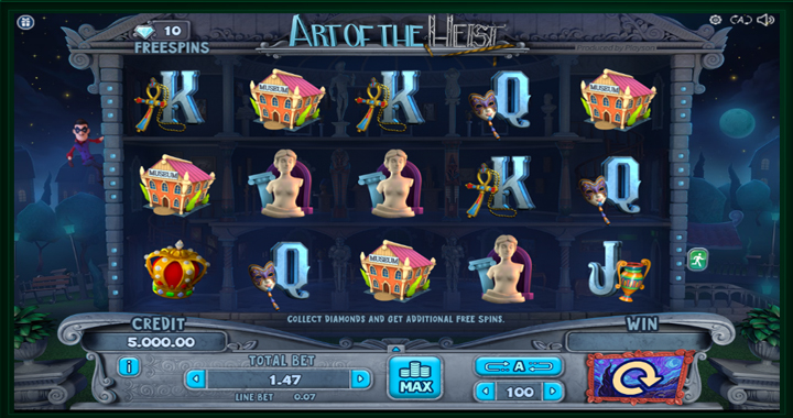 Art of the Heist Slot Review