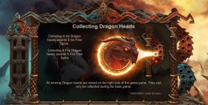 Double Dragons Collecting Dragon Heads