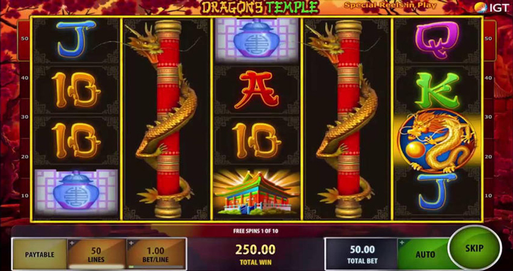 Dragon's Temple Slot Review