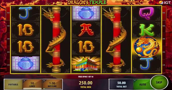 Dragon's Temple Slot Review