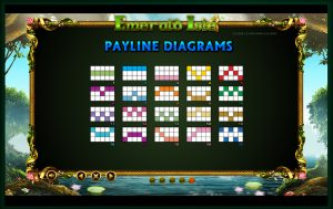 Emerald Isle Payline Diagrams