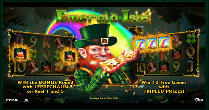 Emerald Isle Slot Review