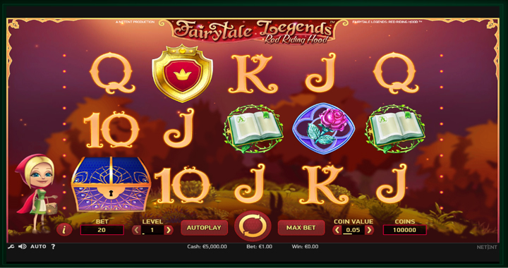 Fairytale Legends: Red Riding Hood Slot Review