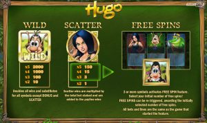 Hugo Paytale Wild and Scatter