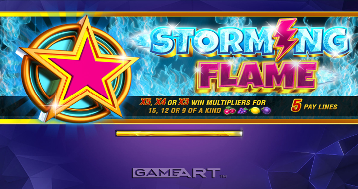 Storming Flame Slot Review