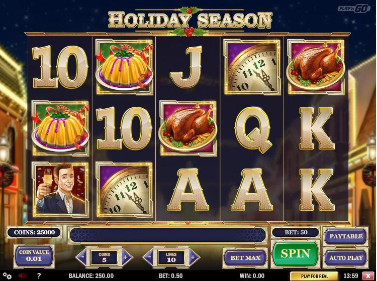 Holidays Season Slot Review