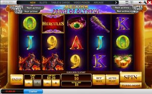 Age of Gods Slot Playtable