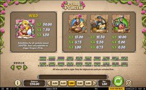 Prissy Princess Slot Review Symbols