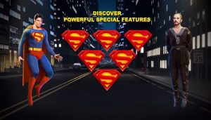 Superman II Slot Review Special Features