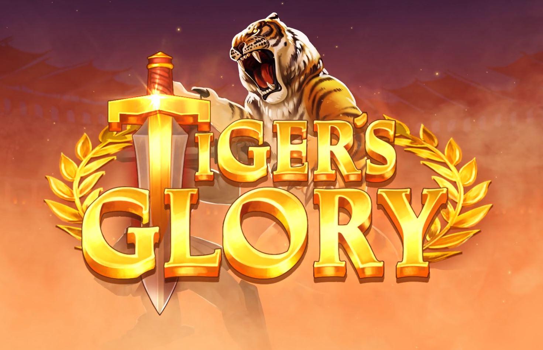 Tiger's Glory 5 Lions Slot Logo