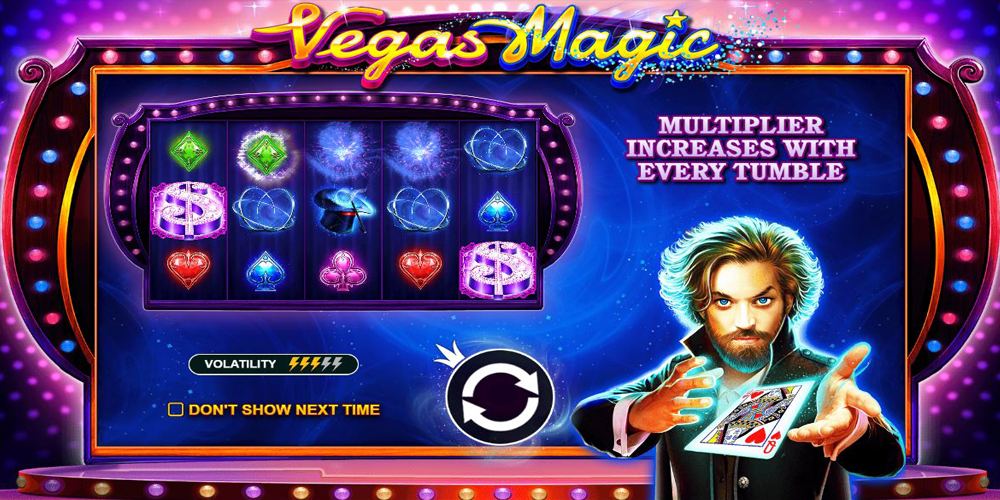 Vegas Magic Slot Intro