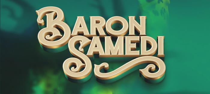 Baron Samedi Slot Logo