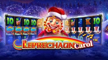Leprechaun Carol Slot Logo