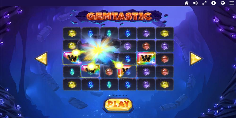 Gemtastic Slot Intro