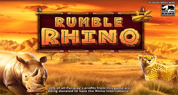 Rumble Rhino Slot