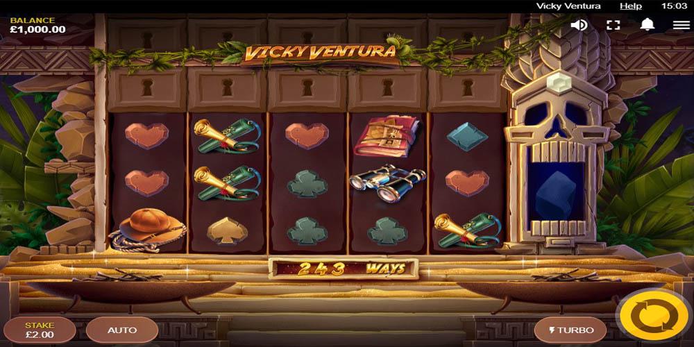 Vicky Ventura Slot Playtable