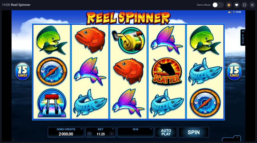 reel spinner slot playtable